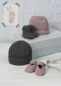 Erika Knight Gossypium Cotton Knitting Pattern Bubble & Squeak DK