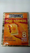 HOTHANDS HAND WARMERS UP TO 8 HOURS OF HEAT - 2 HAND WARMERS