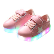 Bashley Boys & Girls LED Light up Shoes Kids Luminous Flashing Sport Sneakers Children Walking Shoes