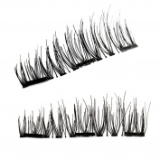 Handmade Natural Fake Eye Lashes Women Beauty Fibre Eyelashes SOMESUN Long Cross Black Fake Eye Lashes