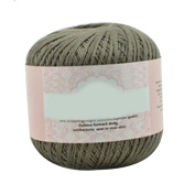Brussels08 Mercerized Cotton Cord Thread Yarn for Embroidery Crochet Knitting Lace Jewellery