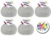 Woolly Hugs – All Series and all colours available Series 1 Sheep Uni - Series 2 Sheep Colour as 50 g Ball with 50% Merino Extra Fine or Series 3 Bandy Colour as 100 g Ball 100% Cotton WOOLLY HUGS SHEEP UNI FarbNr. 90 + 1 x BUTTON