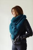 Erika Knight Ladies Pretender Wrap Fur Wool Knitting Pattern Super Chunky