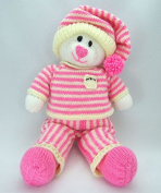 Knitting By Post Bed Time Bear Toy Knitting Pattern DK