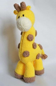 Knitting By Post Giraffe Soft Toy Knitting Pattern DK