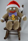 Knitting By Post Gingerbread Man Toy Knitting Pattern DK