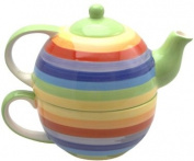Rainbow Teapot for one - Gift Idea
