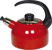 Riess 454295 Stainless Steel Tea Kettle, Red, 24 x 18.8 x 18.8 cm
