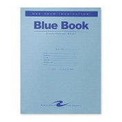 Roaring Spring Blue Exam Book, 28cm x 22cm , 8 Sheets, Full Case with 50 Booklets