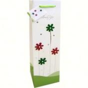 "Bella Vita - Decorative ""Thanks"" Wine Bag"