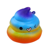 Squishy Toy,Stress Reliever Toys,Exquisite Fun Crazy Poo Scented Squishy Charm Slow Rising 7cm Simulation Kid Toy