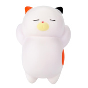 Slow Rising Squishies Jumbo Mingfa Cute Lazy Sleeping Cat Scented Stress Reliever Squeeze Toy for Kids Adults ADD ADHD Autism