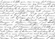 Darkroom Door Background Cling Stamp 10cm x 15cm -French Script