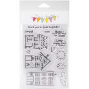 Jane's Doodles Clear Stamps 10cm x 15cm -Home Sweet Home