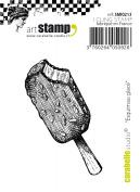 Carabelle Studio Cling Stamp Small 6.5cm x 3cm -Ice Cream Treat