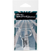 Brutus Monroe Clear Stamps 5.1cm x 7.6cm -happy Summer