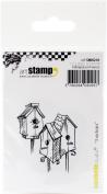 Carabelle Studio Cling Stamp Small 5.5cm x 3.5cm -Bird Houses