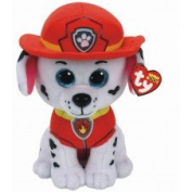 TY Licenced Beanie Buddy Approx 23cm - Paw Patrol - MARSHALL , Perfect Plush!