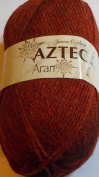 James C Brett Aztec Aran AL14 Rust