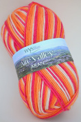 West Yorkshire Spinners Essential Aran The Cocktail Range 856 Tequila Sunrise