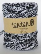 Boucle Yarn, Black & White mix