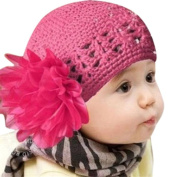 Bluester Cute Flower Toddlers Infant Baby Girl Lace Hair Band Headband Headwear Hat