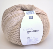 Rico Creative Melange Dk Wool Colour 06 – Natural Mix Gradient Colour Needle Size 3.5 – 4 mm to Knitting & Crochet