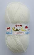 Peter Pan DOUBLE KNITTING DK Yarn/WoolG YARN - 50g 0330 Soft Cream