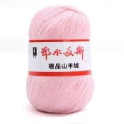 wool knitting yarn - ERDOS Generic 5 x luxurious Cashmere Reiner Mongolian cashmere wool knitting yarn 50g Baby rose