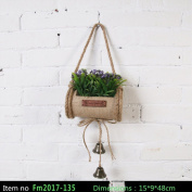 emulation Plant Home decoration Mini bonsai Pure hand-made,15*9*48cm,2