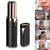 Painless Hair Remover, Portable USB Charging Flawless Facial Hair Remover on the Upper Lip, Chin, Cheeks, Sideburns