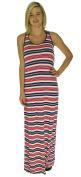 Sperry Top-Slider Women's Striped Coverup Maxi Dress
