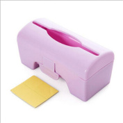 Everyday Home Solid Colour Plastic Wall-mounted Garbage Bag Storage Box Container Tool