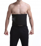 Neoprene Sweat Belt, Waist Trimmer Belt For Weight Loss Fat Faster Adjustable Sauna Burn Belly Fat for Men & Womens