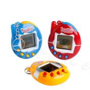 Deaum 1Pc 90S 49 Pets in 1 Virtual Cyber Pet Tamagotchi Tiny Retro Game Boys & Girls Toy, Random Colour
