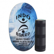 Indo Board Original Balance Trainer - Select From 6 Colours, Blue Wave