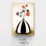 Met Love Modern Minimalist LED 26W Vase Fresco Light Bedroom Bedside Lamp Living Room Wall Decoration Murals Corridor Aisle Acrylic Wall Lamp