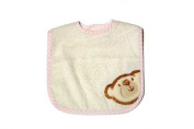 Be Be's Collection Big Willi 846 Hook and loop Bibs, 30 x 40 cm Pink