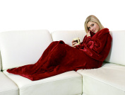 Walser-Blanket with Sleeves Colore rosso