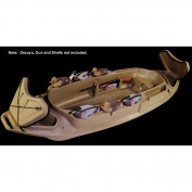 400083 Beavertail 1200 Stealth Series Marsh Brown Bird / Duck Hunting Boat