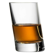 Leaning Shot Glass 7cl - Single - Tilted Wonky Shot Glass