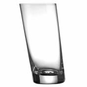 Leaning Highball Glass 36cl - Single - Tilted Wonky Hiball Tumbler