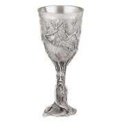 Royal Selangor Hand Finished Sculptors Dream-Lord of the Rings Collection Pewter Ent Goblet