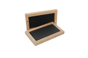 Proops Jewellers Gold Testing Stone 100 x 50 x 10mm in Wooden Box, 9ct, 18ct, 24ct (J2066). Free UK Postage.