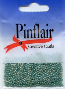 Pinflair Tiny Glass Beads - Jade, 10g approx