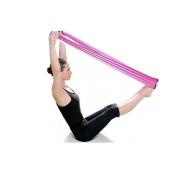 Malloom® Pilates Yoga Workout Aerobics Stretch Band Tensile Band Elastic Band