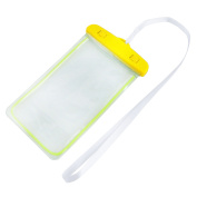 Outdoor Beach PVC Water Resistant Case Bag Dry Pouch Holder Container Yellow