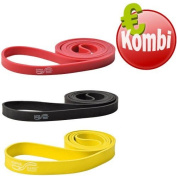Dittmann Jumbo Rubber Band Premium Pull Aids for Training and Workout in Different Strengths