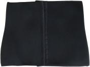 LifeShop Women's Waist Trainer Cincher Tummy Slimmer Body Shape Wear Girdle, Black, Small