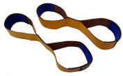 Fig 8 LEATHER figure 8 deadlift straps,Weight Lifting Straps Padded Figure 8's - Heavy DutyWeight Gym Straps